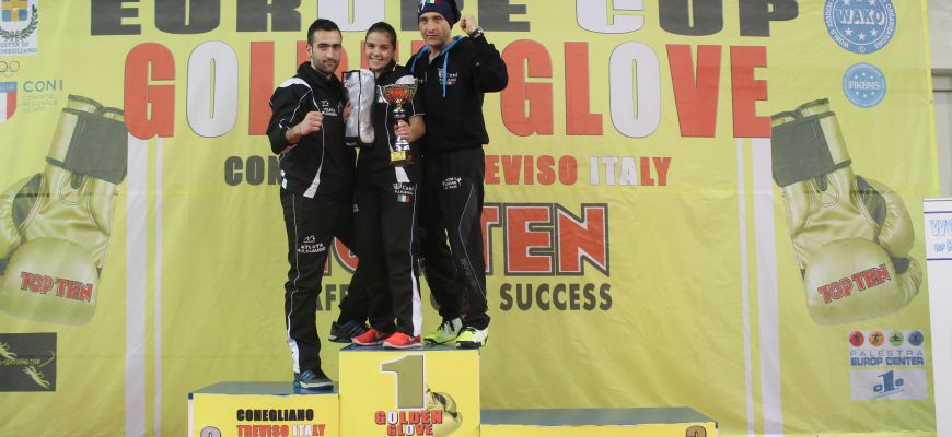 La K.O. Team del Maestro Maurizio Pollicelli è medaglia d'oro alla Europe Cup 'Golden Glove'