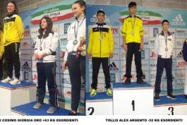 La A.s.d. Karate Body & Soul Avezzano conquista un oro ed un argento
