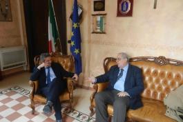 Di Pangrazio a colloquio con nuovo direttore Inps Avezzano