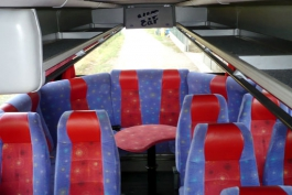 Trasporti: presentati due bus equipaggiati per i disabili