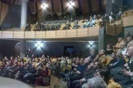 L'Auditorium E.Fermi di Celano martedi' si e' colorato di giallo...