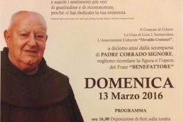 In ricordo di Padre Corrado Signore