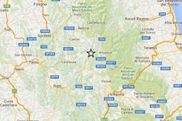 Nuova scossa di terremoto in mattinata