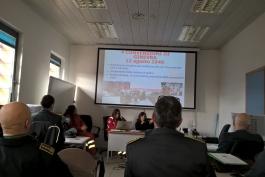 Incontro tra le Fiamme Gialle d'Abruzzo ed istruttori della Croce Rossa