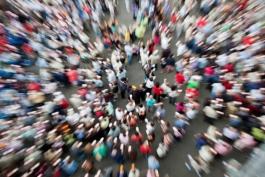 In Italia calo record di abitanti