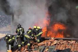 Incendio ad Avezzano, a fuoco abitazione