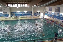 Prima sconfitta per l'Under 15 dell'Avezzano Nuoto