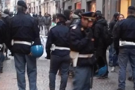 Salvini arriva... ma la casa non è più occupata...