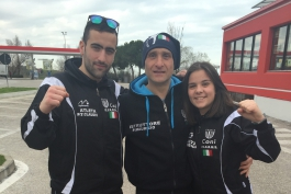 La KO team del maestro Maurizio Pollicelli alla Europe Cup di Kickboxing