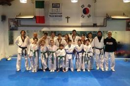 Insaziabile il Centro Taekwondo Celano dei Fratelli Cotturone