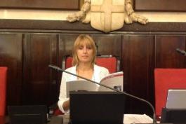 Rita Genovesi, editore marsicano, a palazzo Marino