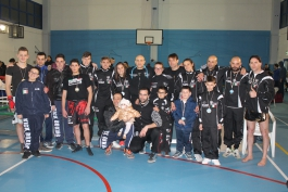 2015 : un anno di soddisfazioni per la K.O. Team Kickboxing Trasacco del Maestro Maurizio Pollicelli