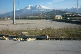 L'interporto di Avezzano e la strada che conduce al mare...