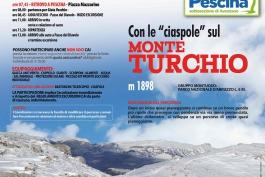 Con le ciaspole sul monte Turchio