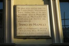 CasaPound contro il sindaco Di Pangrazio riguardo le critiche all'inno di Mameli