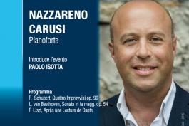 Nazzareno Carusi in concerto a Sulmona