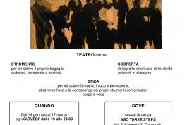 Parte il laboratorio teatrale per adulti a Capistrello