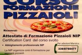 Il corso per pizzaioli arriva anche nella Marsica