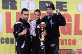 Federica Presutti e Claudio Palenca Tabulazzi della KO Team di Trasacco convocati in nazionale