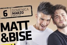 Al centro commerciale 'I Marsi' si ride con Matt & Bise!