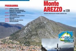 Domenica 20 marzo 2016, escursione sul Monte Arezzo con il Cai