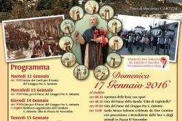 Festa di Sant'Antonio Abate a Villavallelonga, una certezza dal 1657