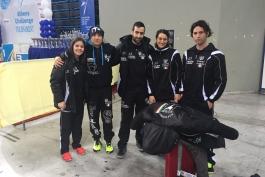 All'Olympic Arena di Atene è doppio podio per la KO Team KickBoxing Trasacco