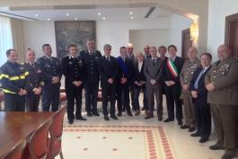 Toccante cerimonia di consegna medaglie a cittadini italiani deportati nei lager