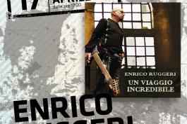 Enrico Ruggeri ospite del Centro Commerciale I Marsi